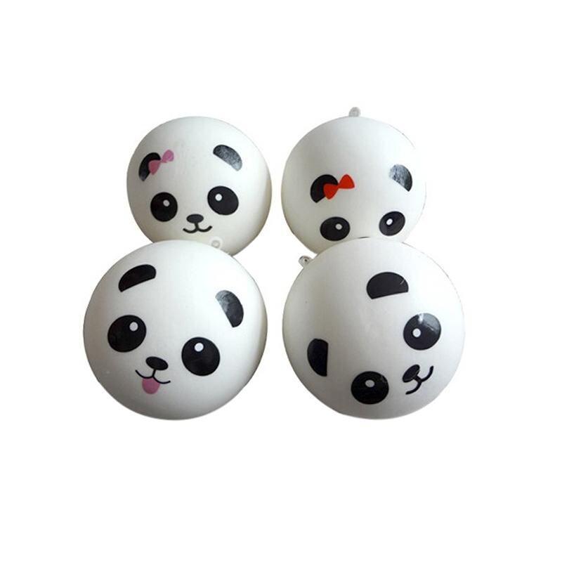 Cute 7cm Panda Squishy Kawaii Buns Bread Charms Key/Bag/Car/Cell Phone