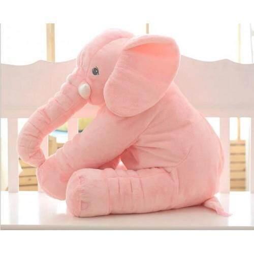 CUTE ELEPHANT PLUSH TOY (Without Blanket) Pre Order ETA 11/12 Pink