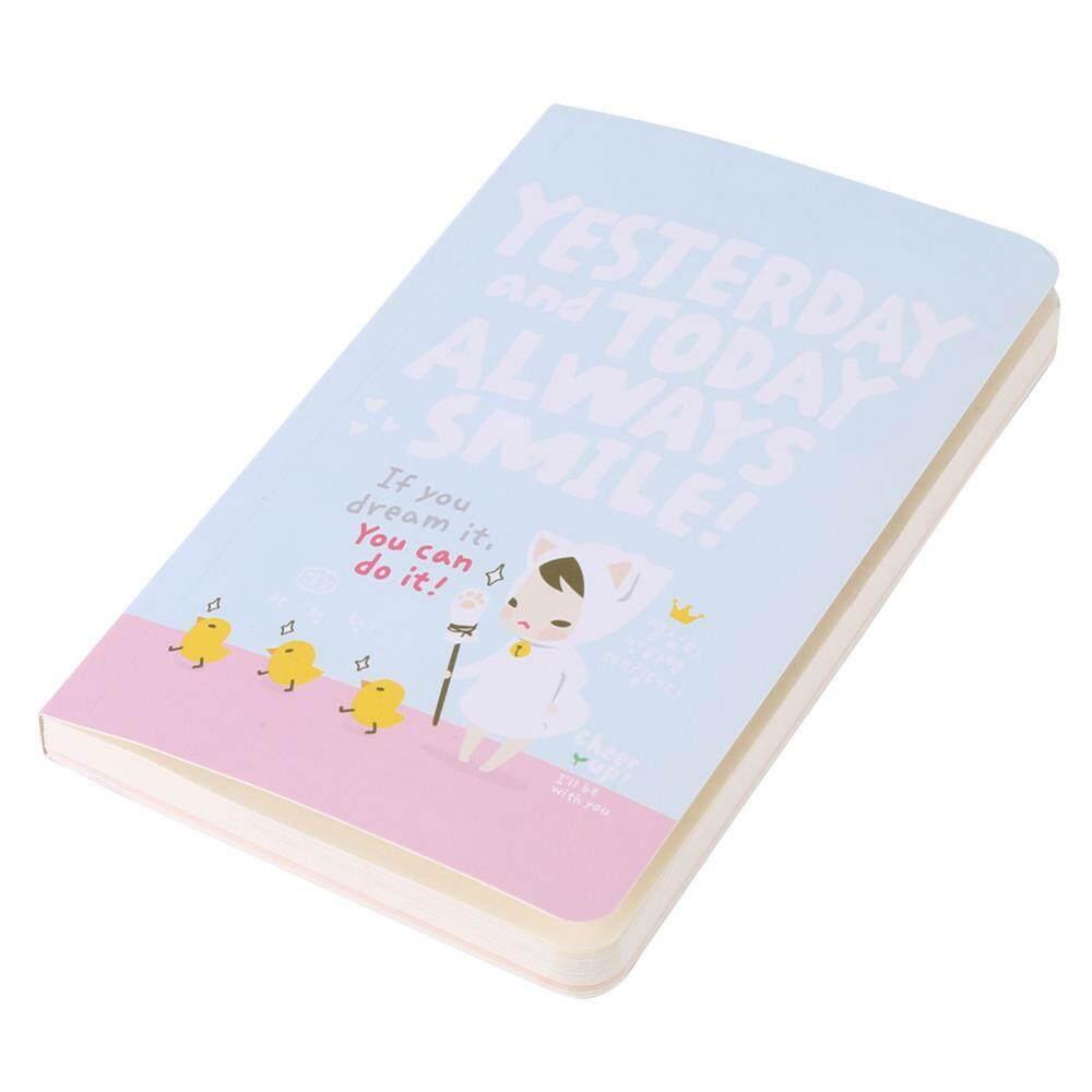 Buku Catatan Lucu Rencana Minggu Diary Perjalanan Merekam Stationery Kantor Perlengkapan Sekolah-Internasional