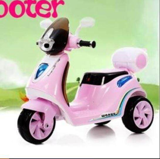 Cute Vespa Scooter Pink