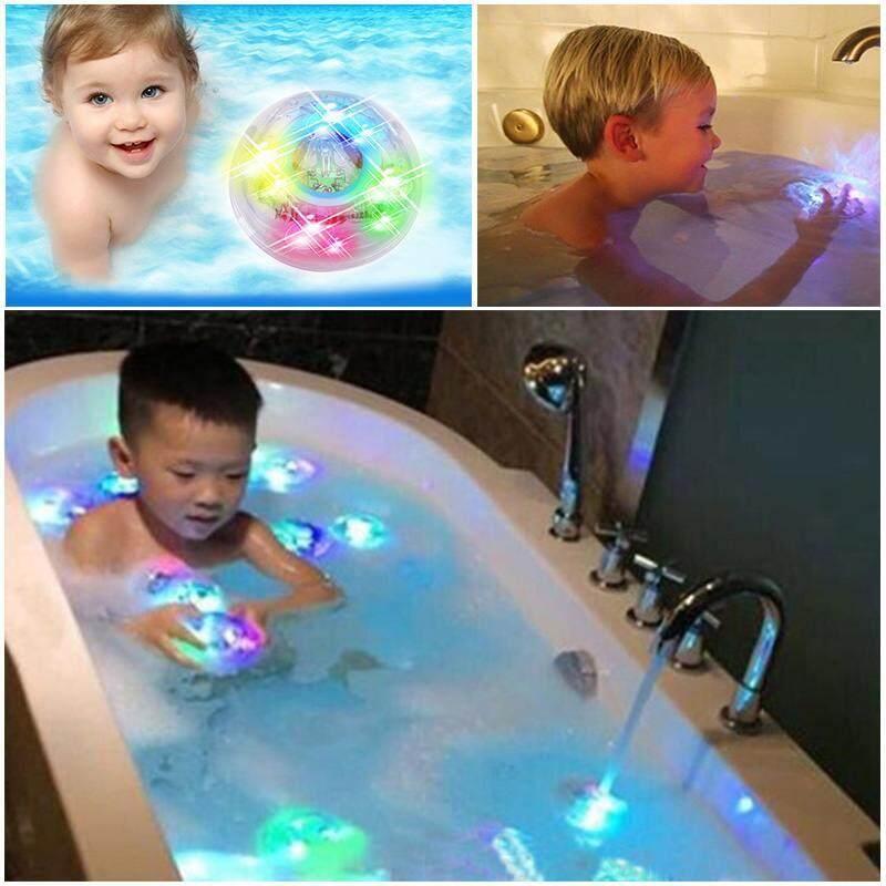 DISCO BATH LIGHTSHOW COLOUR LED LIGHT TOY PARTY IN THE TUB KIDS BATH ...