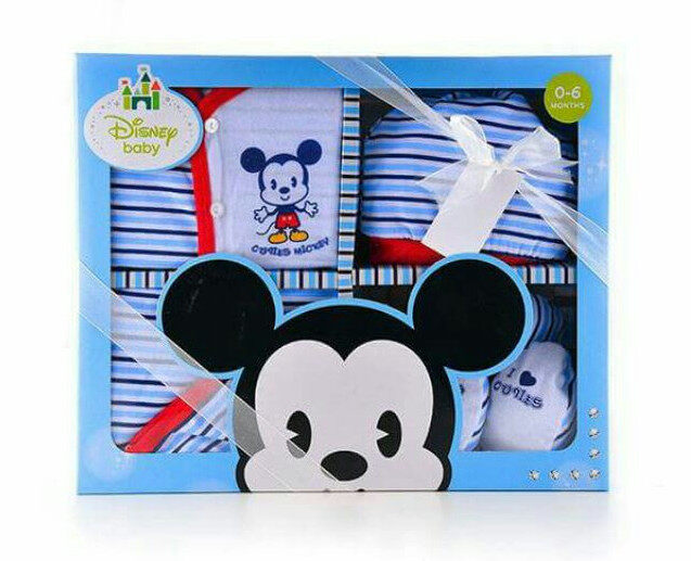 Disney Cuties Baby – Mickey 5 pcs Gift Set