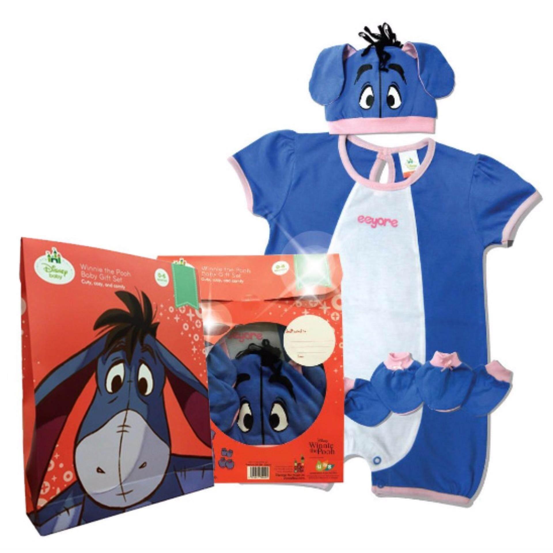 Disney Cuties Baby Premium Romper 5pcs Gift Set - Eeyore