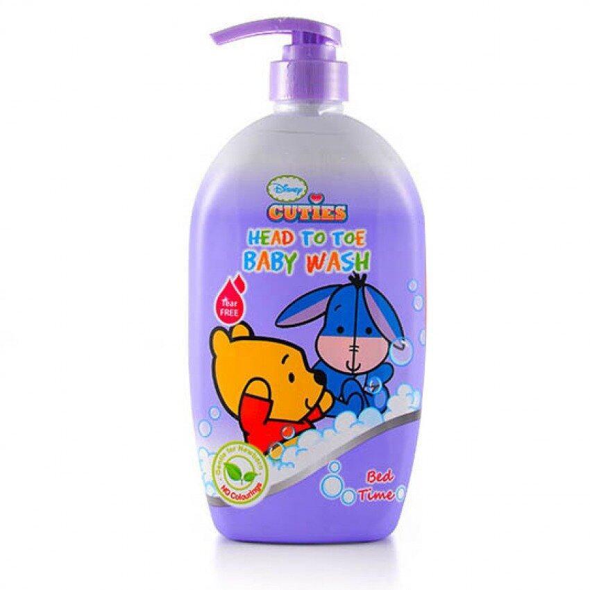 Disney Cuties Head To Toe Baby Wash 750ML - Bedtime
