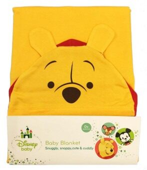 Harga Disney Cuties Hooded Blanket - Winnie The Pooh