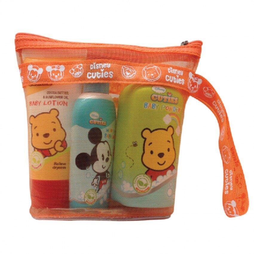Disney Cuties Starter Gift Set - Lotion, Baby Wash & Baby Powder