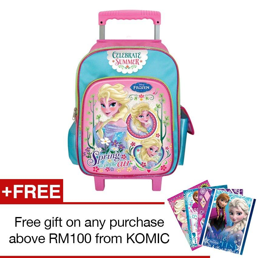 Disney Frozen School Trolley Bag
