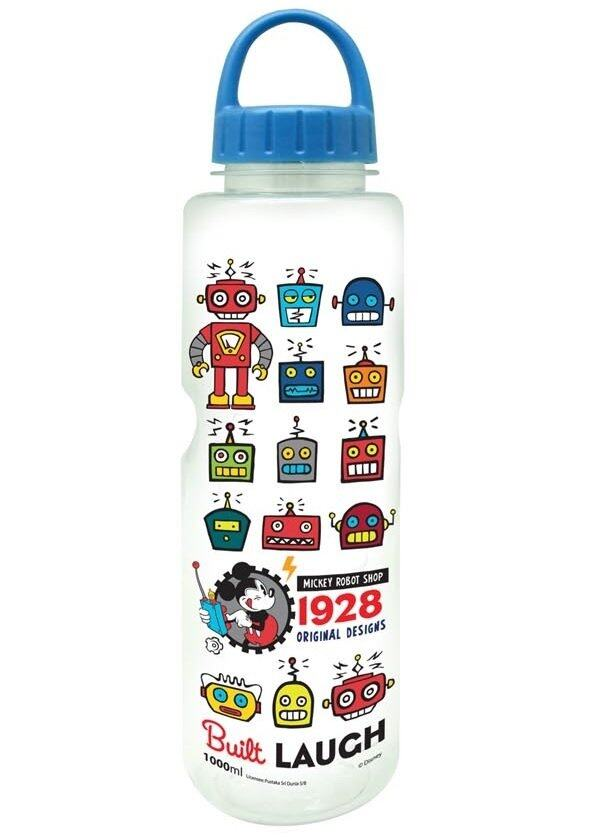 Disney Mickey Robot Shop Tritan Water Bottle 1000ml