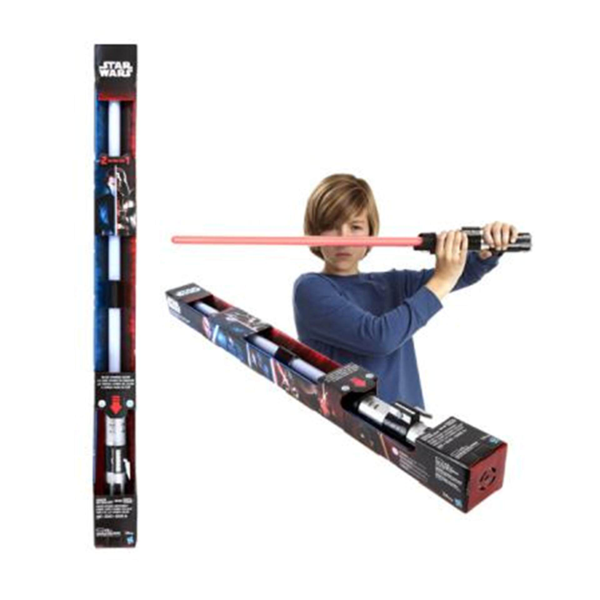 Disney Star Wars E3 Anakin To Vader Colour Change Lightsaber - Blue & Red Colour Toys for boys