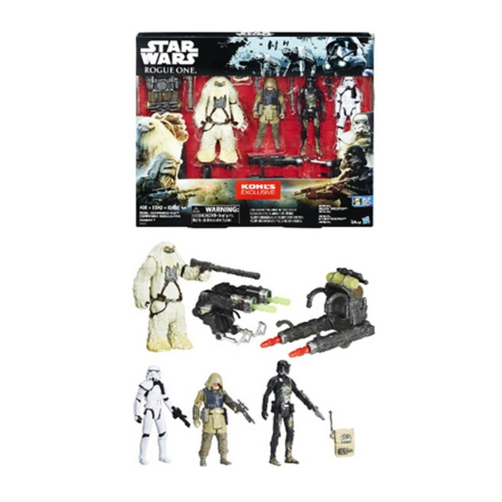 Disney Star Wars S1 SWU Battle 4 Pack - Multicolour Toys for boys