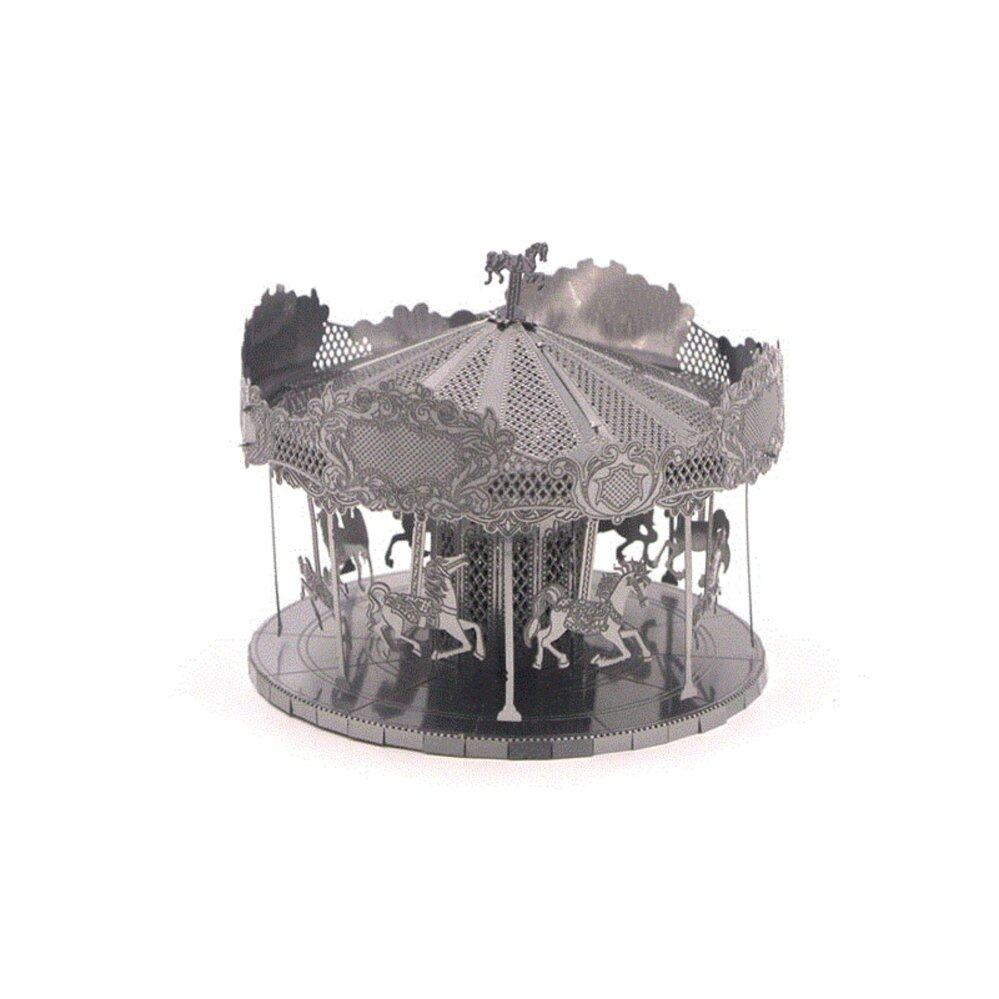 Carousel metal 3D puzzle
