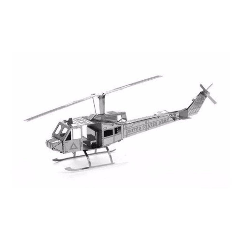 Helicopter 3D metal puzzle