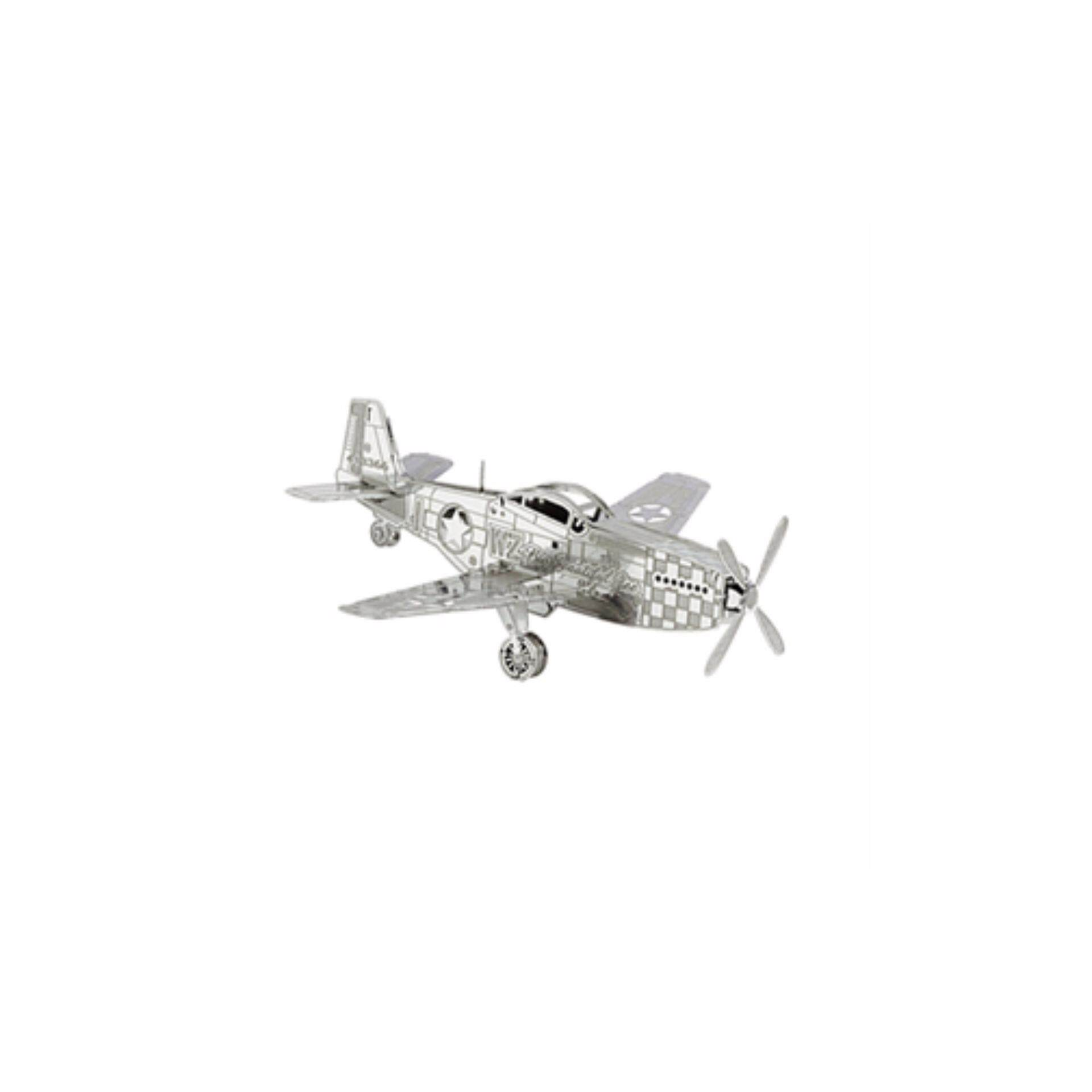 Mustang aircraft metal 3D puzzle