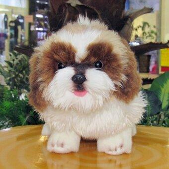 Dog simulation doll plush toy birthday gift pillow