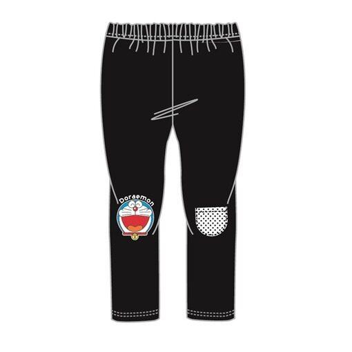 Doraemon Girls Leggings Trousers 100% Cotton 4yrs to 12yrs - Black Colour