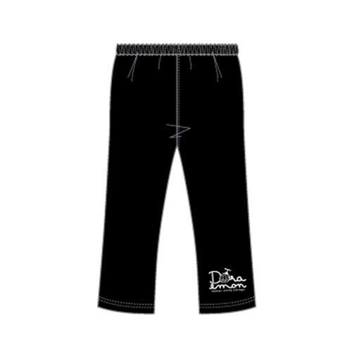 Doraemon Girls Leggings Trousers 95% Cotton 5% Spandex 4yrs to 12yrs - White Colour Logo