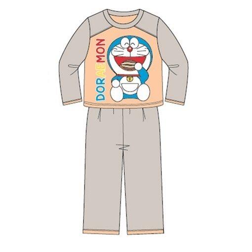 Doraemon Homewear 100% Cotton 4yrs to 12yrs - Grey Orange Colour