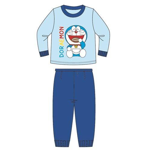 Doraemon Kids Homewear 100% Cotton 3yrs to 10yrs - Blue Colour