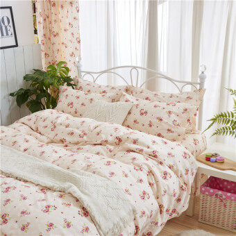 Harga Dormitory 2 m bed can be equipped with linen cute pink pillowcasequilt