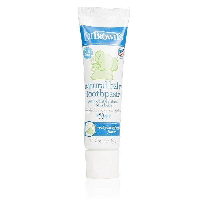 Dr Brown\'s - Happy Teeth Floride-Free Toothpaste (Neutral)