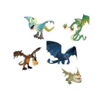 Dreamworks How to Train Your Dragon All 5 Dragons  Lazada Malaysia