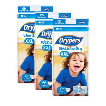 Drypers Wee Wee Super Jumbo Pack Super Jumbo XXL40 (3 pack)