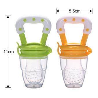 Bayi Sayuran Gigitan Dot M Hijau