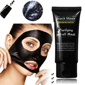 Harga Eachgo Face Skin Care Activated Carbon Black Mask BlackheadRemoving Mask Strong penetration suction Oil Control
