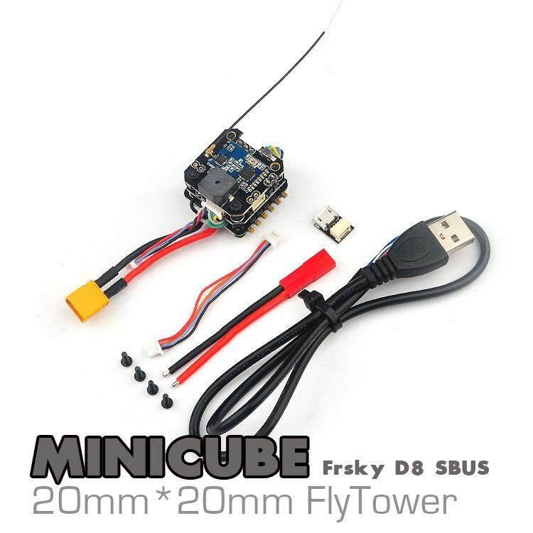 Eachine Minicube Flytower 20X20 Mm Kompatibel Order Alerts RX F3 V1.1 6DOF Blheli_S 10A