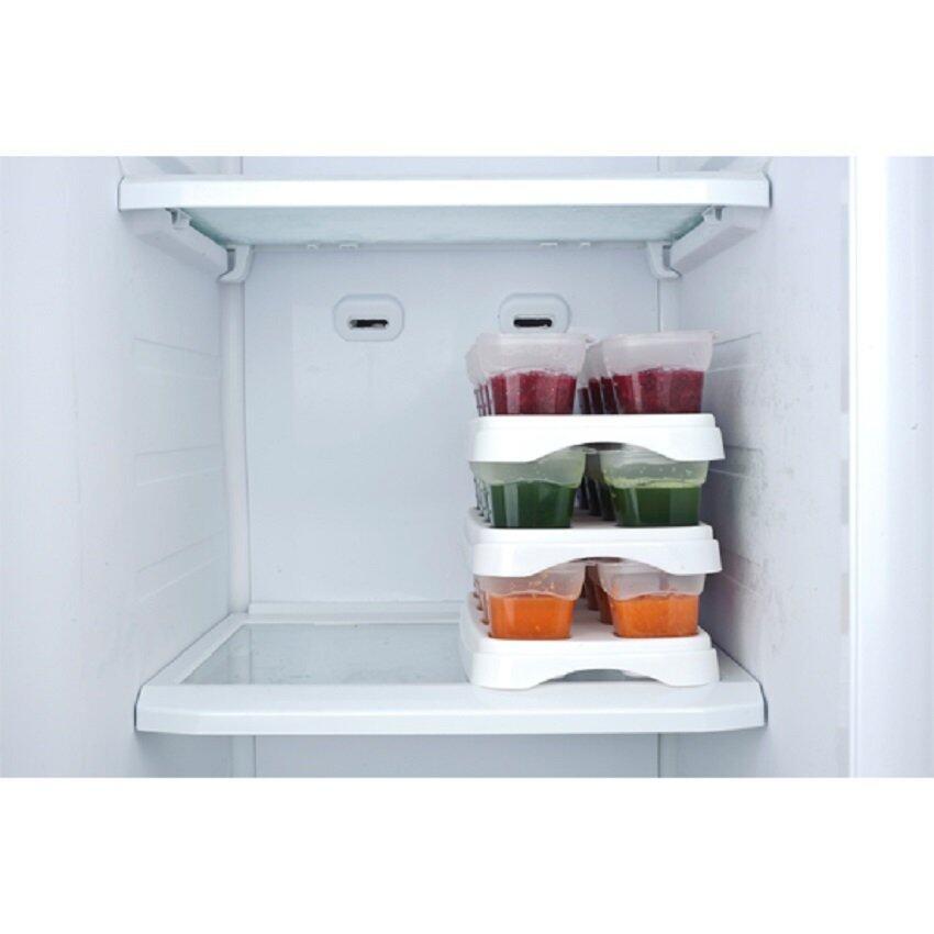 EASY Breastmilk / Baby Food Storage Cups (2oz) *Green*