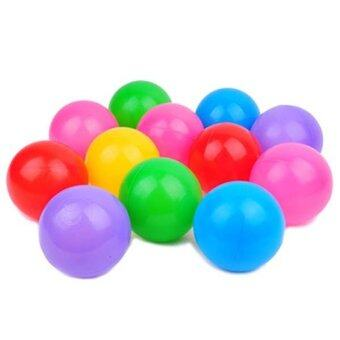 Easybuy 50pc Kids Baby Colorful Soft Play Balls Toy for Ball PitSwim Pit Ball Pool