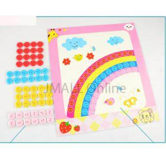 Harga Educational Aids Button Art (Random Design 12pcs)