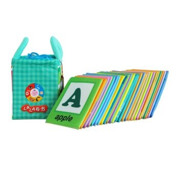 Harga Educational LALA Cloth Book Flash Cards (LALA1)
