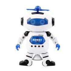 Jual Listrik Ruang Pintar Menari Robot Berjalan Anak Musik Lampu Mainan Robot Putih Not Specified Ori