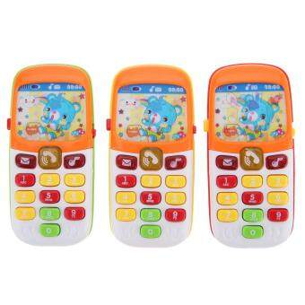 Harga Electronic Toy Phone Kid Mobile Phone Cellphone TelephoneEducational Toys