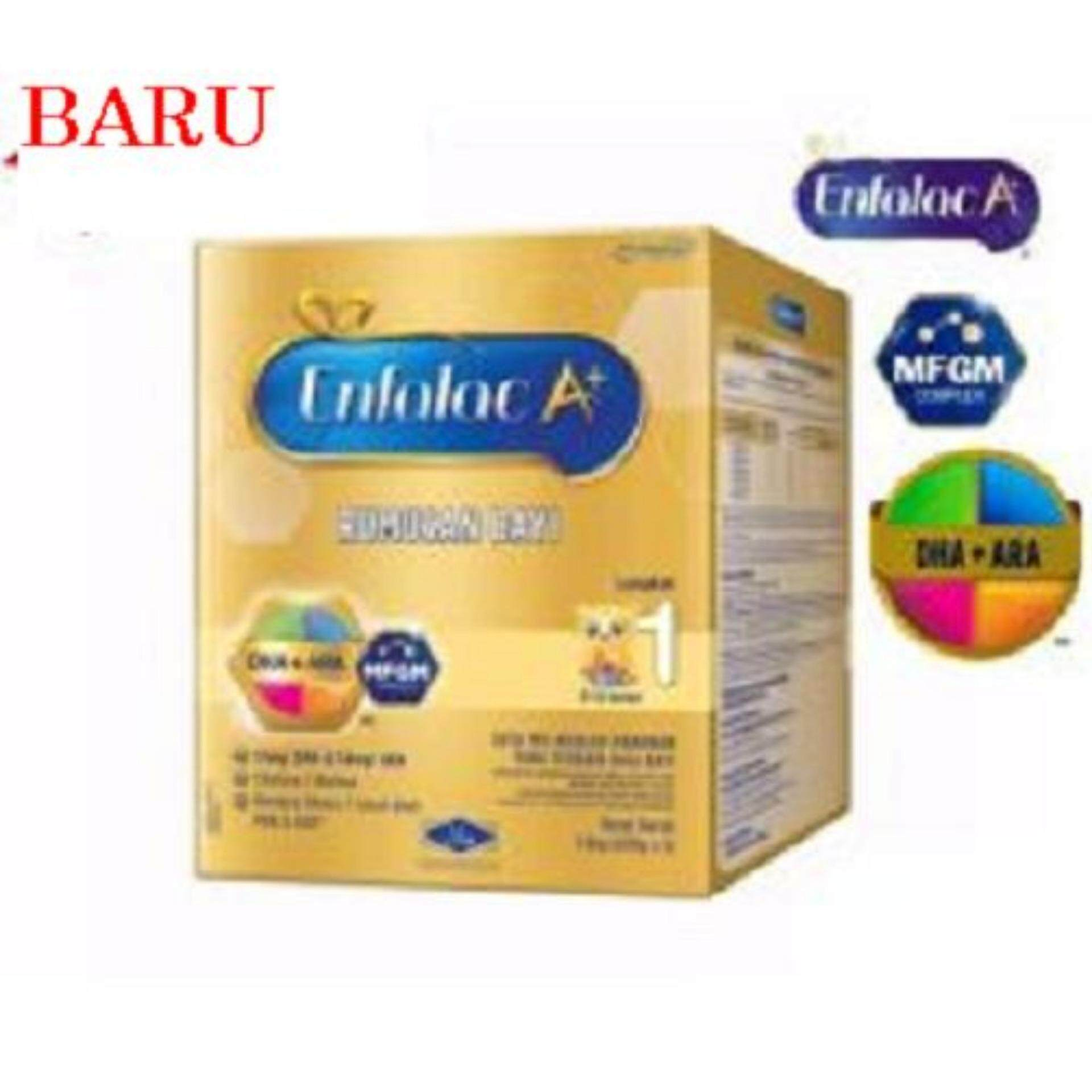 Enfalac A+ Step 1 Infant Formula For 0 To 12 Mths1.8KG (600g x 3) [NEW PACKAGING]