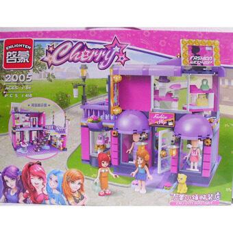 ENLIGHTEN girl's assembled building blocks