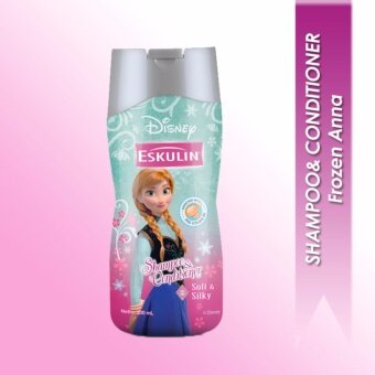 Harga Eskulin Kids Shampoo & Conditioner - Frozen Anna