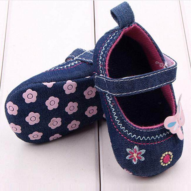 Fashion Baby Shoes Butterfly Soft Sole Toddler Shoes - intl