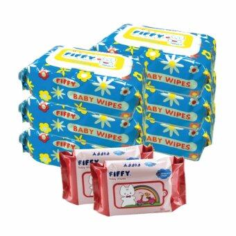 Harga FIFFY Baby Wipes (100's x 6 + 60's)