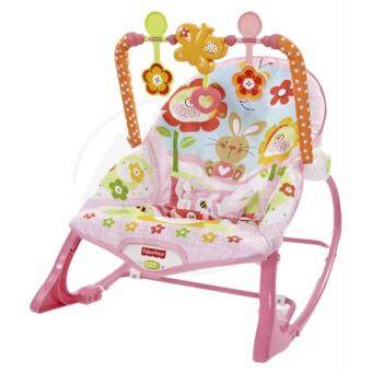 FISHER PRICE BABY TODDLER ROCKER CHAIR WITH VIBRATION MUSIC (PINK)
