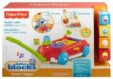 Fisher-Price FP FP INFANT ROLLER BLOCKS WAGON INFANT TOY (6-36 month+)