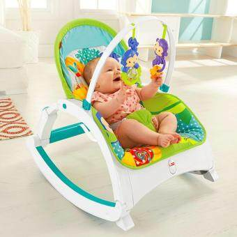 Fisher-Price(R) Rainforest Friends Newborn-to-Toddler Portable Rocker - 2