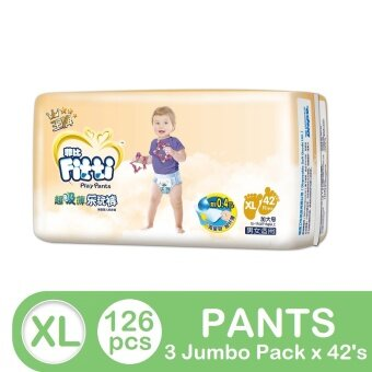FITTI Gold Pants Jumbo XL42 (3 packs)