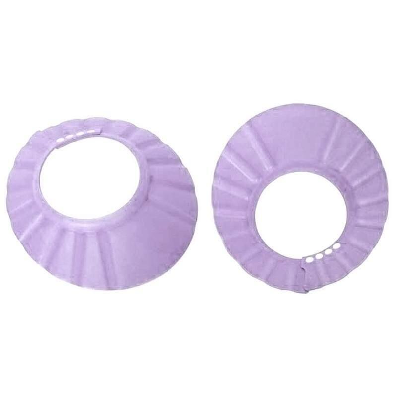 Detail Gambar Untuk Bayi Keramas Mandi Mandi Mandi Melindungi Menyesuaikan  Topi Lembut Topi Ungu-Intl Terbaru d76c1b4966