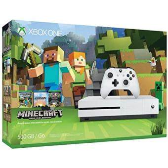 From USA Xbox One S 500GB Console - Minecraft Bundle [Discontinued]
