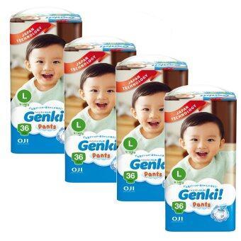 Genki! Pants Jumbo L36 (4 packs)