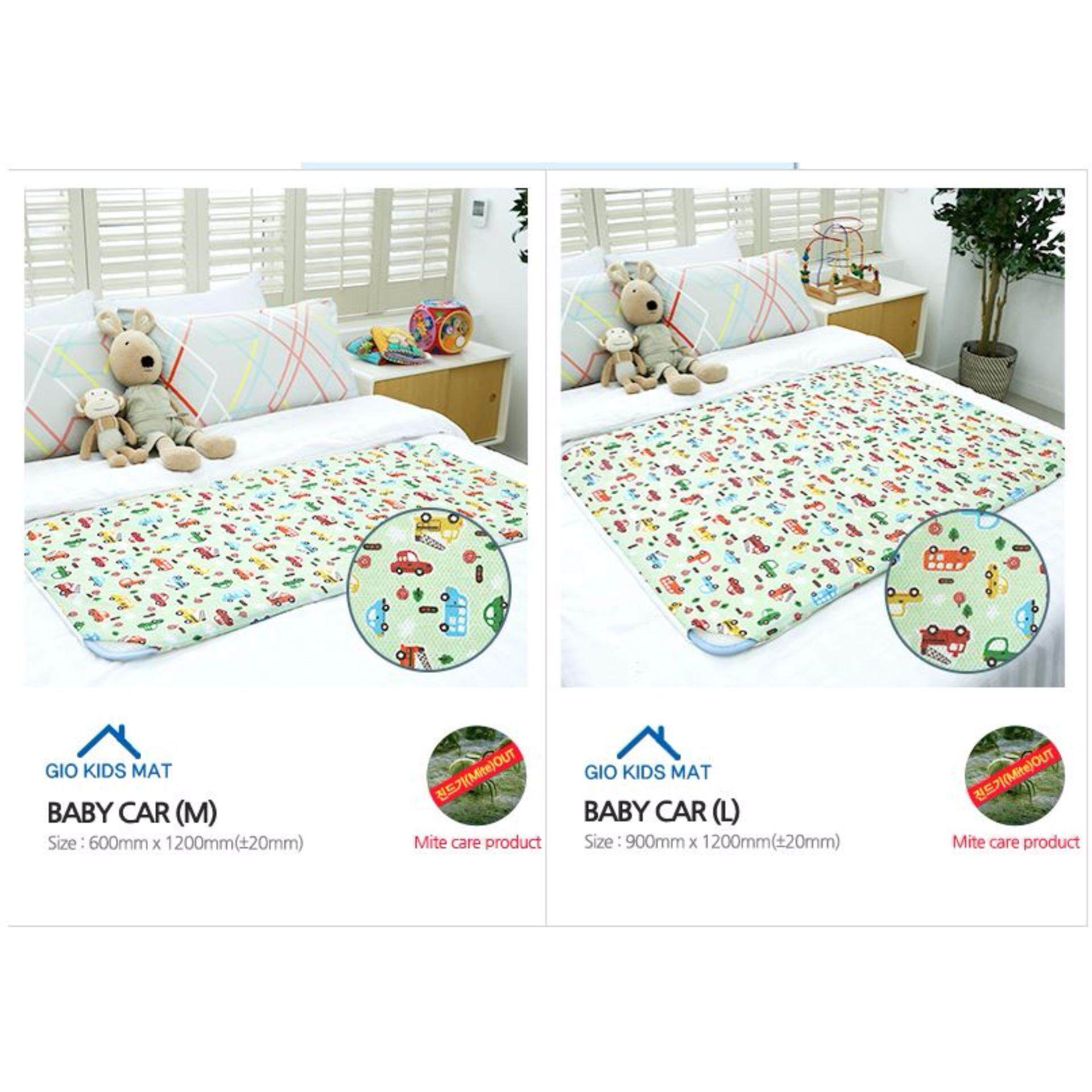 GIO KIDS MAT 2 in 1 Baby Car M Size with Carrier Bag