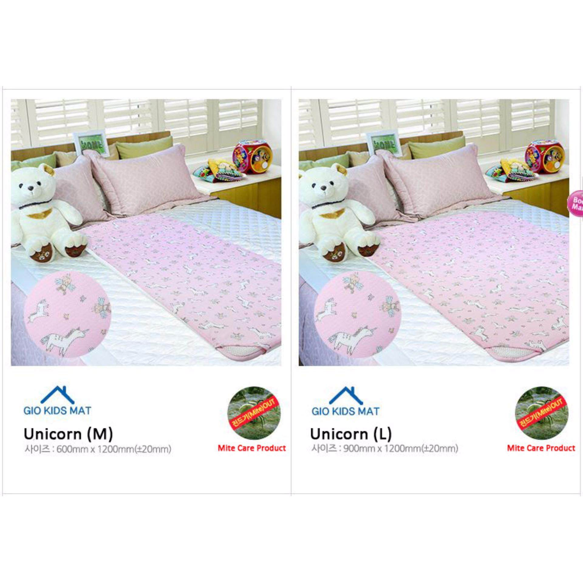 GIO KIDS MAT 2 in 1 Unicorn M Size with Carrier Bag