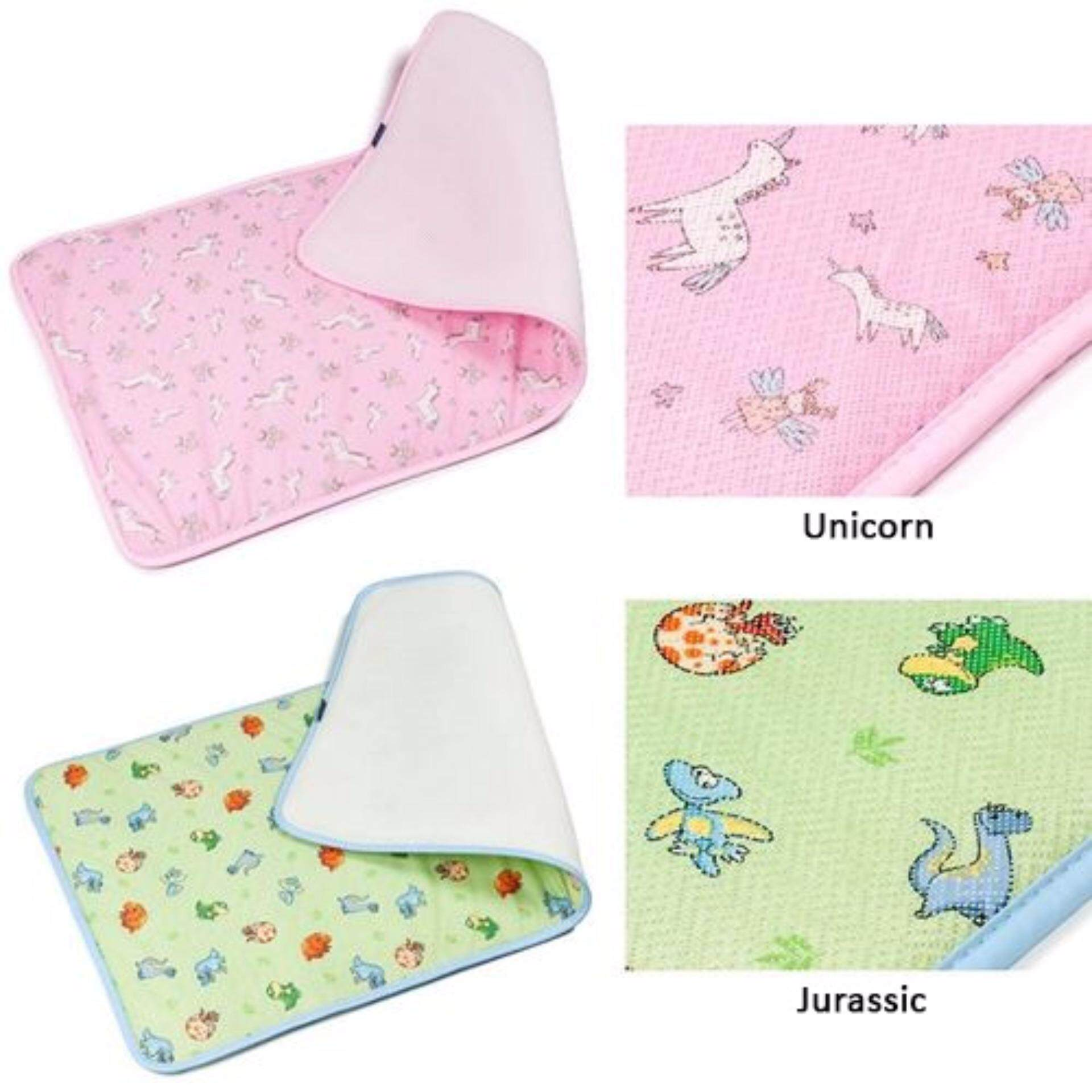 GIO KIDS MAT Single Side Unicorn L Size with Carrier Bag